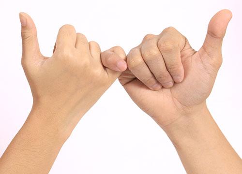 人から信頼されたいなら 小さな約束を守る・ 人を傷つけることはしない